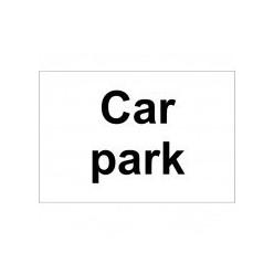 Cark Park Sign 300 x 200mm
