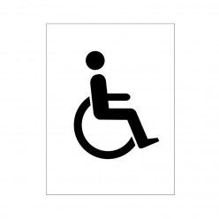 Disabled Sign 150 x 200mm