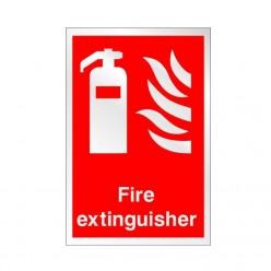 Prestige Fire Extinguisher Sign 150 x 200mm