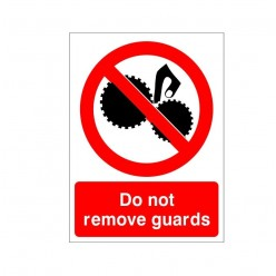 Do Not Remove Guards...