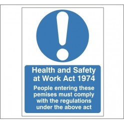 Health And Safety At Work...