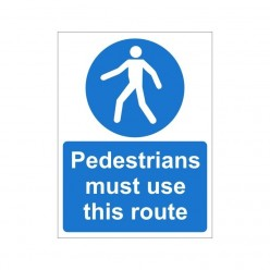 Pedestrians Must Use This...