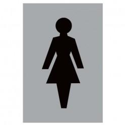 Female Aluminium Door Sign