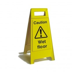 Caution Wet Floor Free...