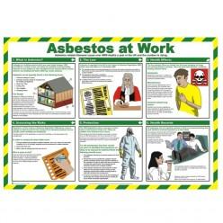 Asbestos At Work Poster