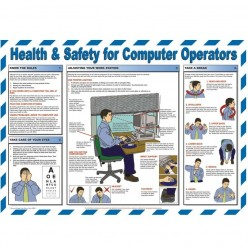 Healthy And Safety For Computer Operators Posters