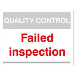Quality Control Failed...