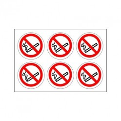 No Smoking Labels