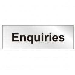 Prestige Enquiries Sign