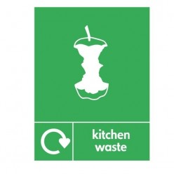 Kitchen Waste Recycling Sign