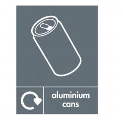 Aluminium Cans Recylcing Sign