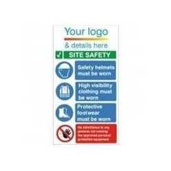 Corporate Site Safety PPE Sign