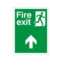 Non Slip Fire Exit Up Floor Sign