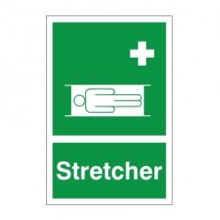 Stretcher First Aid Sign 200 x 300mm