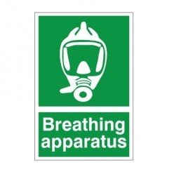 Breathing Apparatus First Aid Sign 200 x 300mm