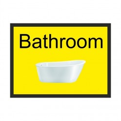 Bathroom Dementia Sign 300 x 200mm