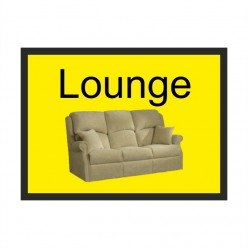 Lounge Dementia Sign 300 x 200mm