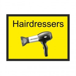 Hairdressers Dementia Sign 300 x 200mm