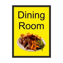 Dining Room Dementia Sign 200 x 300mm