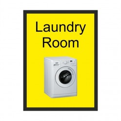 Laundry Room Dementia Sign 200 x 300mm