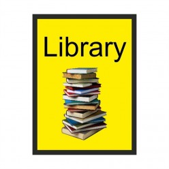 Library Dementia Sign 200 x 300mm