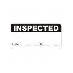 Inspected Quality Control Labels