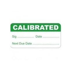 Calibrated Test And Measure Labels