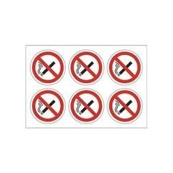 No Smoking Symbols Pack of 24