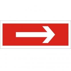 Arrow Right Sign 300 x 100mm