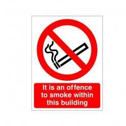 It Is An Offence To Smoke...