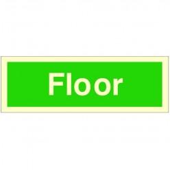 Floor Stairway Identification 300 x 100mm