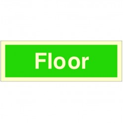 Floor Stairway Identification 300 x 100mm