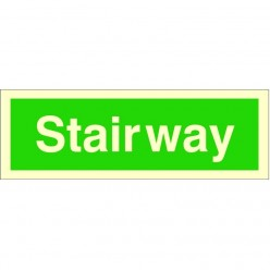 Stairway Fire Sign 300 x 100mm
