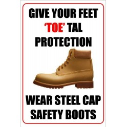Give Your Feet 'Toe' Tal Protection