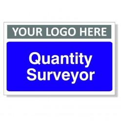 Quantity Surveyor Custom Door Sign