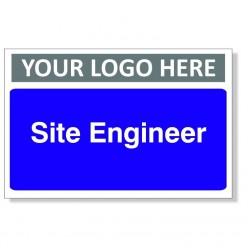 Site Engineer Door Sign