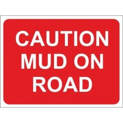 Caution lorries turning 600x450mm stanchion sign