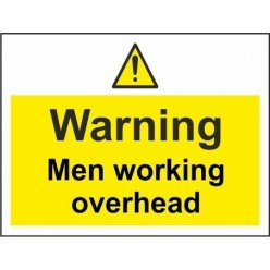 no access to construction traffic 600x450mm stanchion sign
