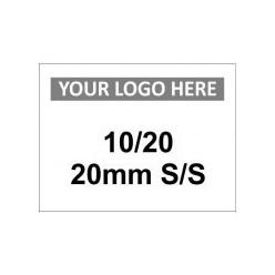 10/20 20mm S/S Custom Logo Sign