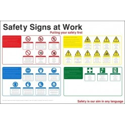 Safety Signs At Work Sign