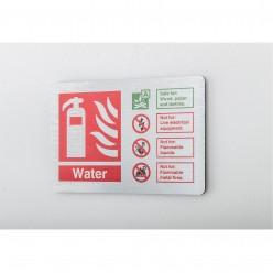 Prestige Water Sign 150 x 100mm
