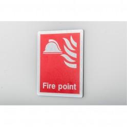 Prestige Fire Point Sign 150 x 200mm