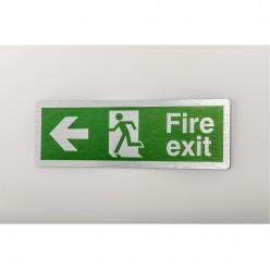 Prestige Fire Exit Arrow Left Sign