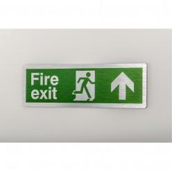 Prestige Fire Exit Arrow Up Sign