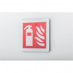 Prestige Fire Extinguisher Sign 100 x 100mm