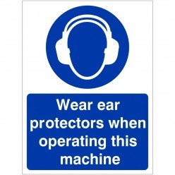 Wear Ear Protection When...