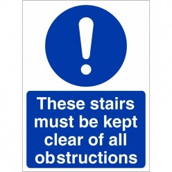 These Stairs Must Be Kept...