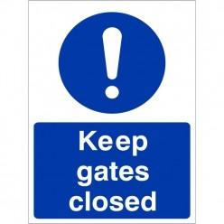 Keep Gates Closed