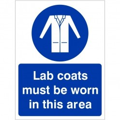 Lab Coats Must Be Worn In...