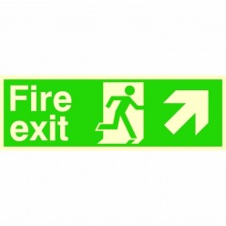Photoluminescent Fire Exit...